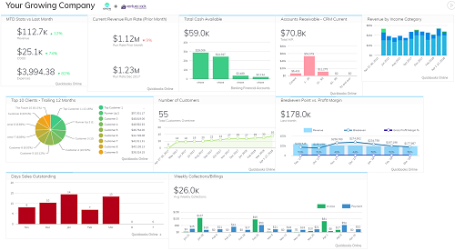 CFO In-A-Box – Affordable Dashboards for Small Biz